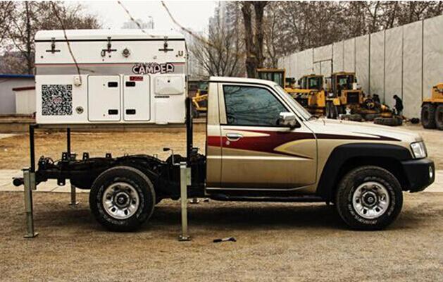日产途乐4800皮卡强力改装房车