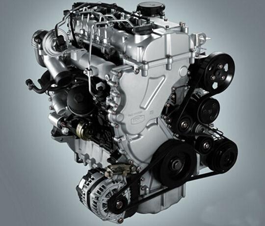 9t涡轮增压柴油发动机(型号:云内d19tci)